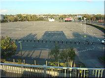 TQ2387 : Car park, Brent Cross by Oxyman