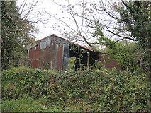 SW7336 : Derelict barn at Tretheague by Rod Allday