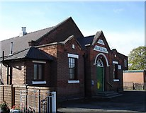 SK6443 : Burton Joyce Village Hall by Oxymoron