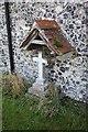 TM2095 : St Mary's Church, Tasburgh, Norfolk - Grave by John Salmon