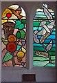 TM2095 : St Mary's Church, Tasburgh, Norfolk - Window by John Salmon