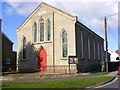 TM3863 : Saxmundham United Reformed Church by Adrian Cable