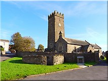 SN4201 : St. Illtyd's Church, Pembrey by Rose and Trev Clough