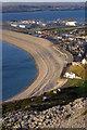 SY6873 : Chesil Cove from West Cliff by Jim Champion