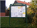 TM2660 : Kettleburgh Village Notice Board by Adrian Cable