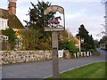 TM2858 : Easton Village Sign by Adrian Cable
