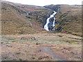 B8515 : Waterfall on Scardan Burn Tor Townland by Mac McCarron