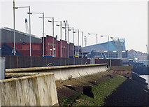 TA0827 : Hull's River Frontage by Andy Beecroft