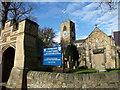 NY9864 : Parish Church of St. Andrew, Corbridge by wfmillar