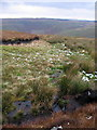 SN8374 : Stream atop Craig Cwmtinwen by Rudi Winter