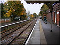 TM3877 : Halesworth Railway Station by Adrian Cable