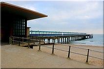 SZ1191 : Boscombe Pier by Nigel Mykura