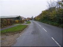 TM2956 : B1078 Border Cot Lane, Wickham Market by Adrian Cable
