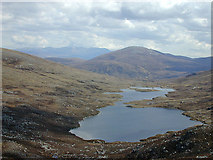 NH2273 : Looking down towards Loch Sgeireach by Nigel Brown