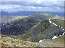 NH2071 : The ridge to Beinn Liath Mhòr Fannaich by Nigel Brown