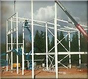 TL8364 : New Asda store starts to take shape, Bury St Edmunds by John Goldsmith