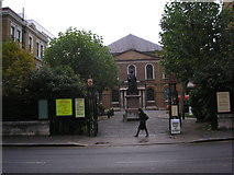 TQ3282 : Wesley's Chapel, City Road, London by Dr Neil Clifton