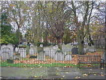 TQ3282 : Bunhill Fields Burial Ground by Dr Neil Clifton