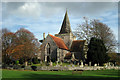 TQ5202 : St Andrews Church, Alfriston, East Sussex by Oast House Archive