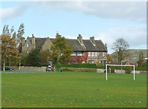SE0823 : Houses, Manor Heath Road, Skircoat, Halifax by Humphrey Bolton