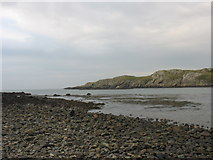 SH3368 : Porth China from the shores of St Cwyfan's island by Eric Jones