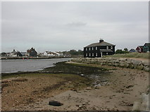 SZ1891 : Black House, Mudeford Spit by Mike Faherty