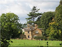 TQ1463 : Pastures and cottage near Loseberry Farm by Mike Quinn