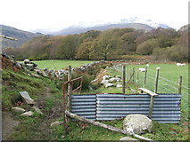 SH7357 : Rough footpath by Keith Evans
