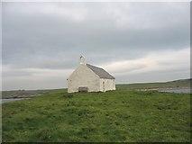 SH3368 : Ynys ac Eglwys Cwyfan Island and Church by Eric Jones