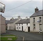 SH3568 : Houses in Stryd yr Eglwys, Aberffraw by Eric Jones