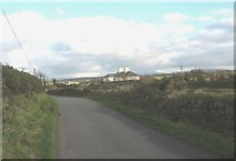 SH3568 : Approaching the former rectory on the Porth Cwyfan to Aberffraw road by Eric Jones