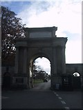 SP4416 : Entrance Gateway to Blenheim Palace by Sarah Charlesworth
