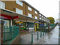 SP0379 : Parade of shops in Wychall Road, King's Norton by Jonathan Billinger