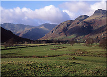 NY3006 : Great Langdale from near Pye How by Tom Richardson
