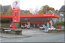 SE1537 : Petrol Station, Leeds Road, Shipley by Mark Anderson