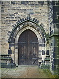SE0125 : St Michael's Church, Doorway by Alexander P Kapp