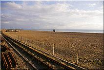 TQ3103 : Brighton Beach, East Sussex by Christine Matthews