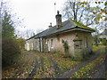NY9172 : Cottages and outbuildings, Wester Hall, Haughton by Les Hull