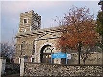 TQ7369 : St. Nicholas Church, Strood by David Anstiss