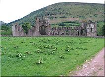 SO2827 : Llanthony Priory by Andrew Hackney