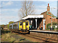 TG2925 : A train has arrived at Worstead Station by Evelyn Simak