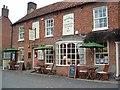 TF8115 : Barnfield's Cafe and Tea Garden, Castle Acre by Paul Shreeve