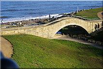 NZ3573 : Bridge over the Brier Dene by john sayers