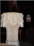 TQ1649 : St Martin's Font by Colin Smith