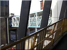 SD8913 : Pedestrian bridge by michael ely