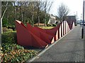 NZ2263 : Public artwork on the north bank of the Tyne by Oliver Dixon