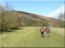 SK2566 : Walking by Lindop Wood by Andy Jamieson
