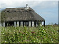 TG4319 : Waterside Cottage on Heigham Sound by Andy Jamieson