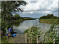 TG4319 : Fishing on Heigham Sound by Andy Jamieson