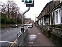 SE0724 : Queen's Road - viewed from Hopwood Lane by Betty Longbottom